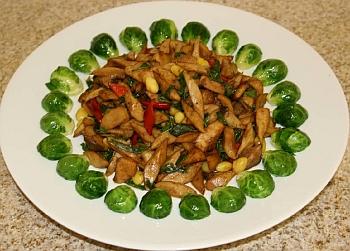 mushroom-with-basil